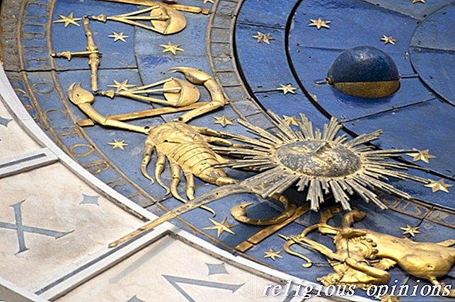 Povezivanje znakova zodijaka s elementima-Alternativne religije