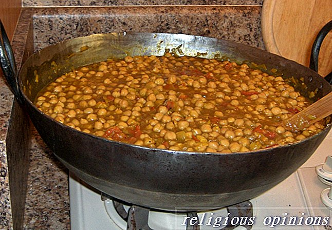 Chole Defined - cizrna Curry-Sikhism
